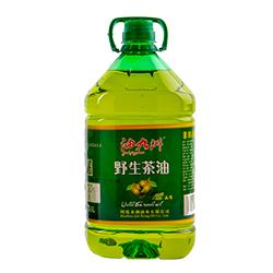 油九洲野生茶油-5L